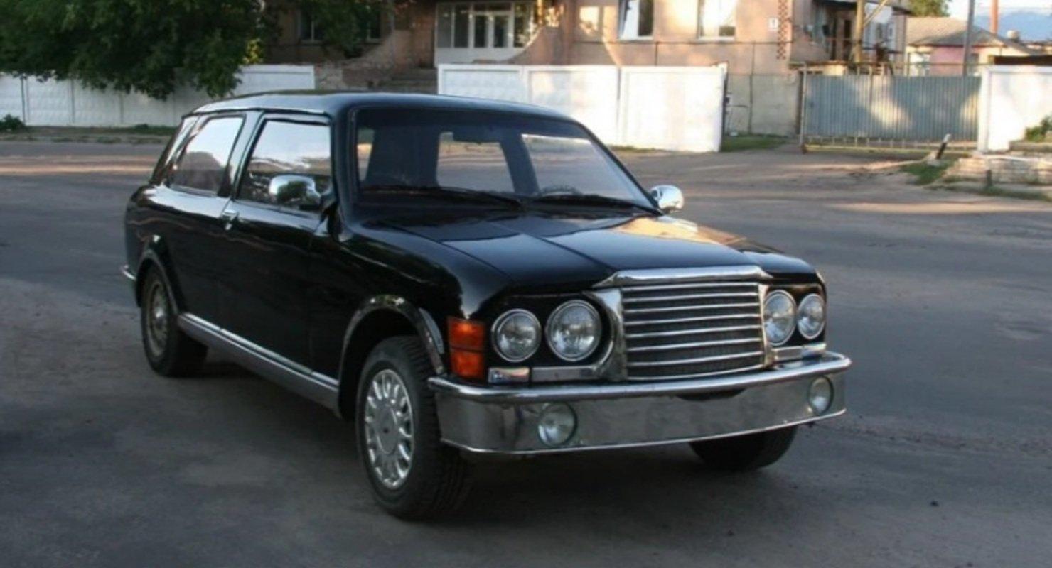 В Сети вспомнили о самодельном аналоге DeLorian из УССР Автомобили