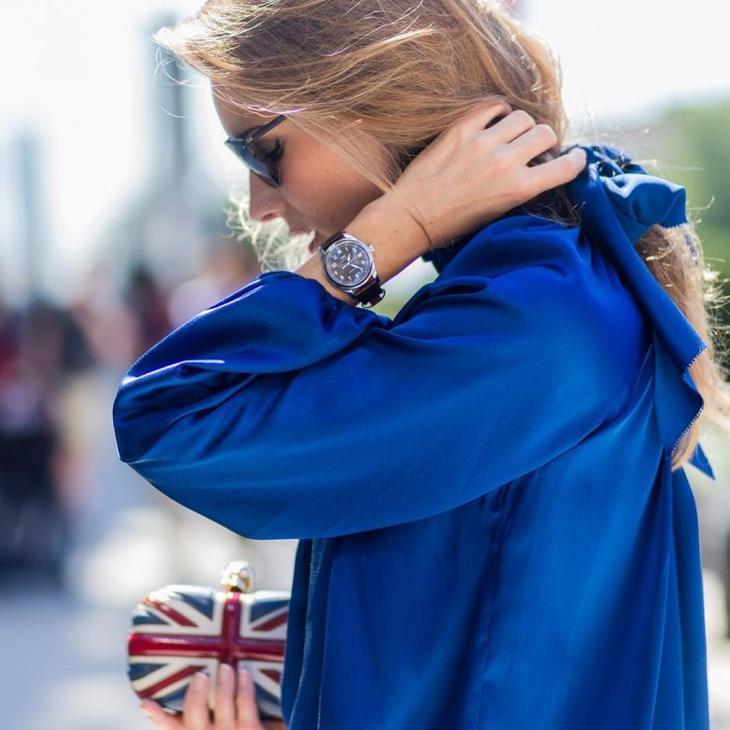 Цвет кобальт или королевский синий: как стильно носить и с чем сочетать
