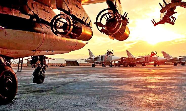 Атаки на российские базы в Сирии могли организовать только США