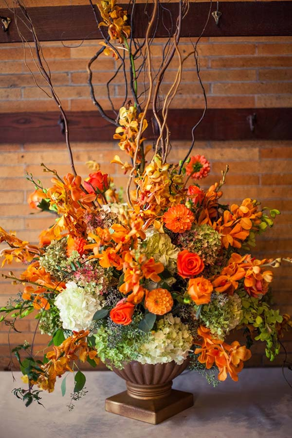 Осенние букеты и композиции из цветов своими руками