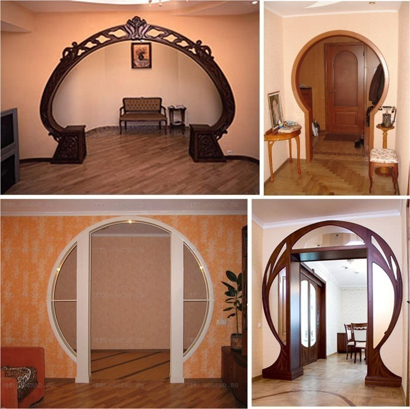 Комнатные арки с картинками