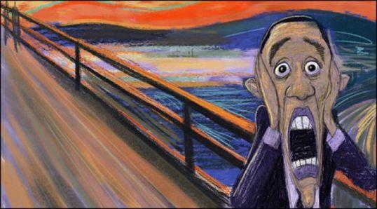 Ужас Обамы!