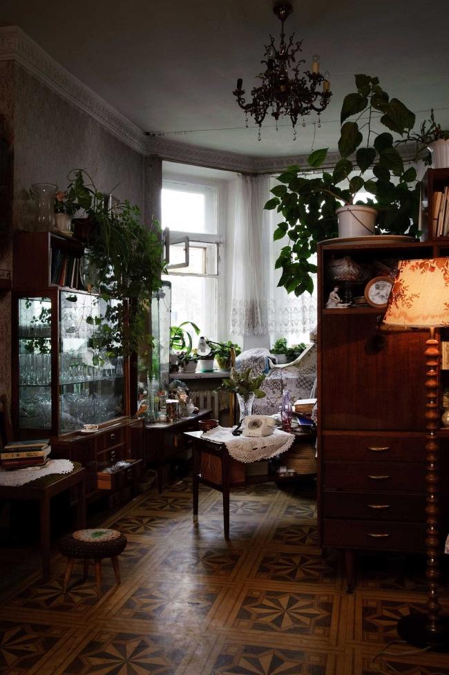 Советская квартира Ксении Апель