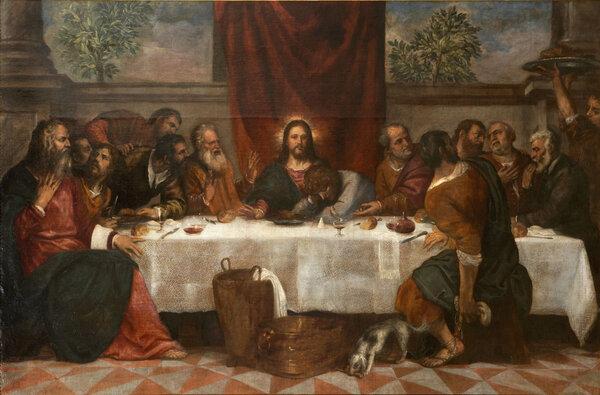 Тициан. Тайная вечеря. 1555