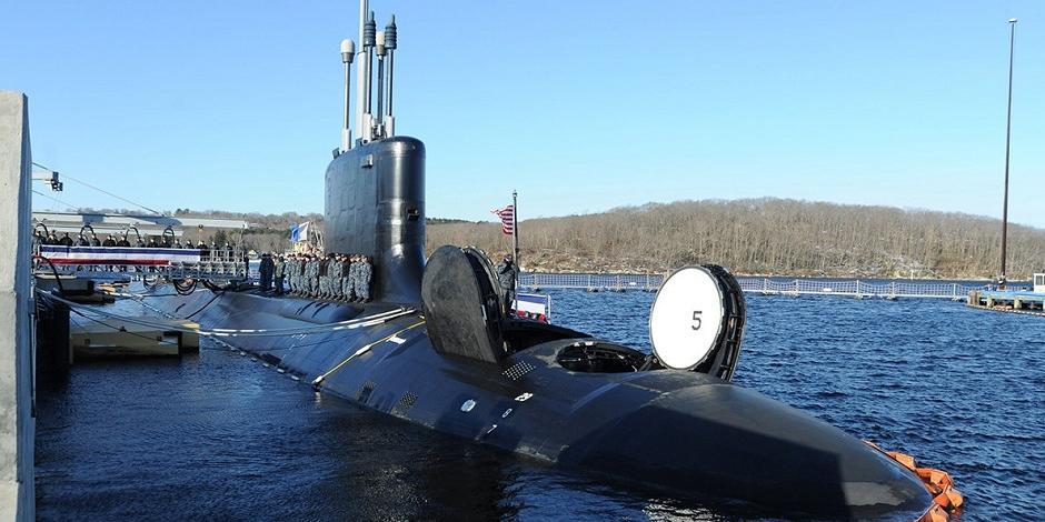 ВМС США получили новейшую атомную подлодку