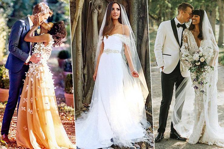 В чем выходят замуж популярные фэшн-блогеров