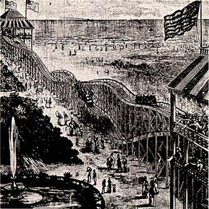 История изобретения «американских горок» америка
