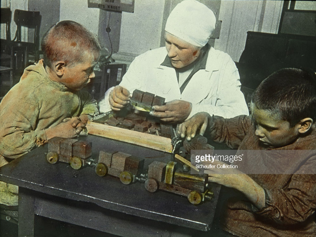 Советский детсад в «идеальные» шестидесятые.