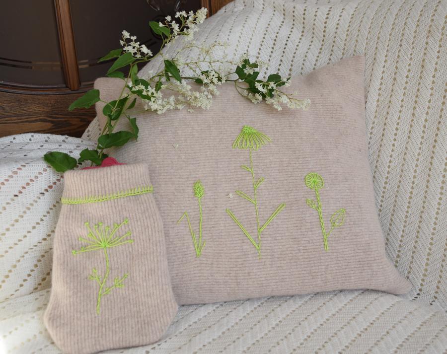 Новая жизнь старого свитера: 5 идей для переделки для дома и дачи,новая жизнь старых вещей