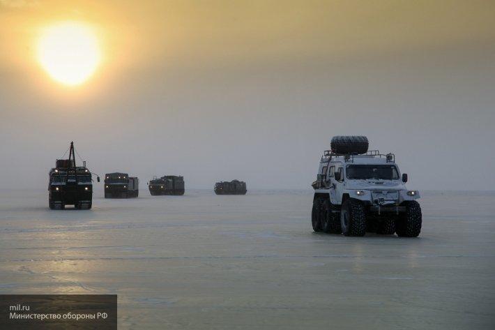 Арктическая экспедиция на снегоходах прибыла в Архангельск