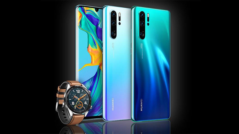Смартфоны Huawei P30 и P30 P…