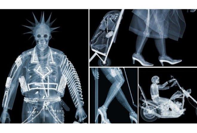 Привычные вещи в рентгеновских лучах.