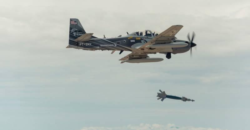 Саботаж. ВВС США против идеи лёгкого штурмовика ввс