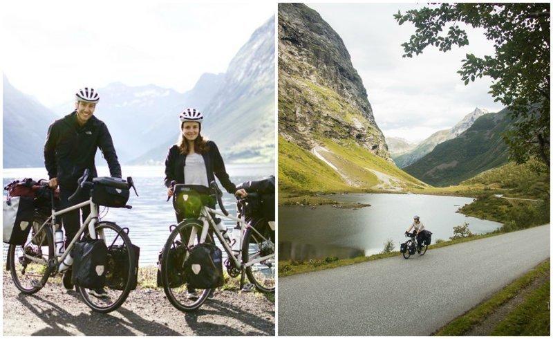 """""""На велосипеде можно поехать куда угодно!"""": пара отправилась в велопутешествие по Европе"""