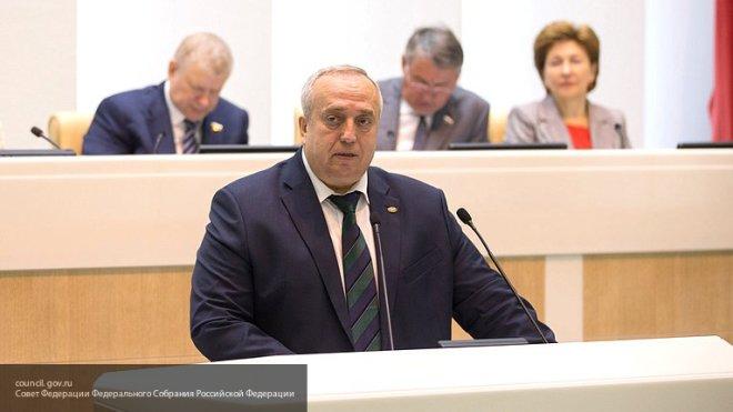 У Совфеда нет данных о расширении группировки в Сирии - сенатор Клинцевич