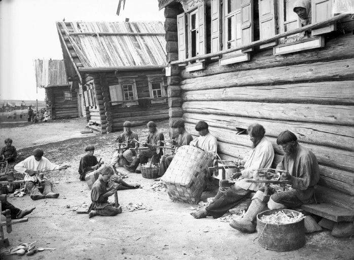 За работой 19 век, жизнь до революции, редкие фотографии, снимки, фотографии, царская россия