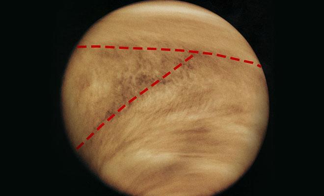 5 необычных явлений, замеченных в атмосфере Венеры. Облака на планете складываются в букву Культура