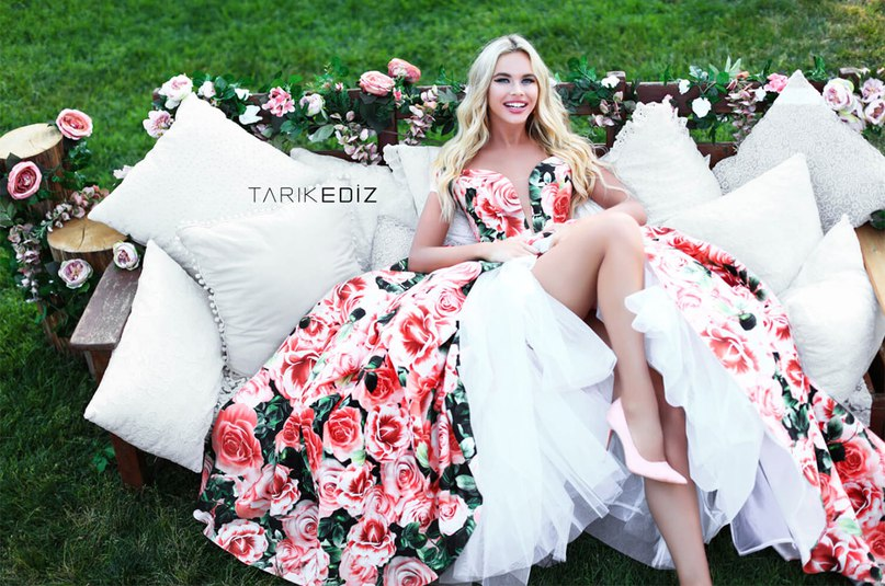 Платья на выпускной Tarik Ediz 2018