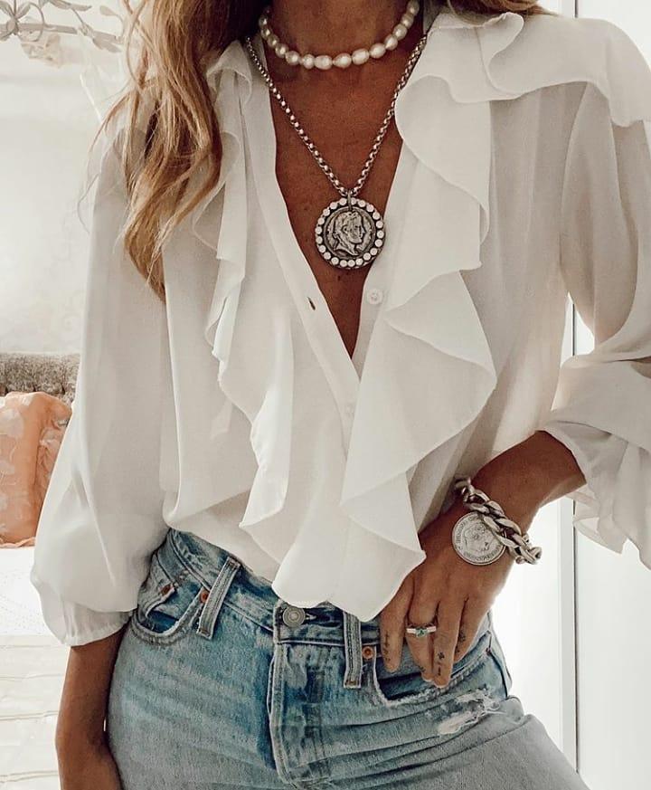 Новая подборка красивых летних блузок: 14 образов, чтобы сделать каждый свой день незабываемым