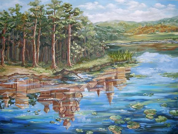 Тайна Китеж-града, скрывшегося под водой озера Светлояр