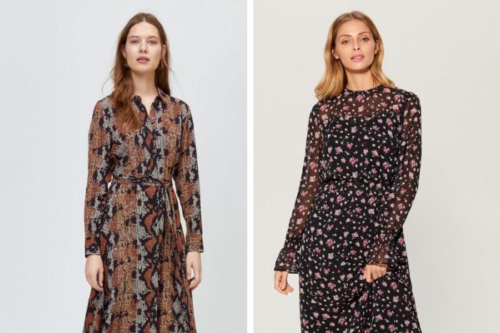 5 модных платьев, которые лучше всего сочетаются с сапогами
