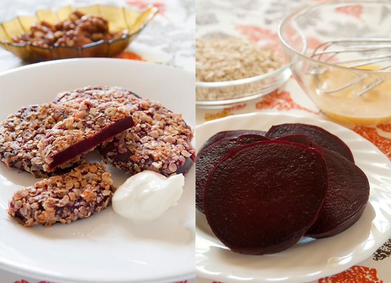 Простой и очень вкусный рецепт: свекла в орехах