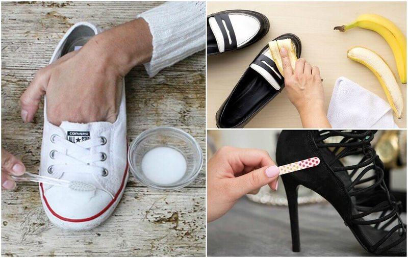 10 интересных трюков, чтобы ваша обувь стала как новая