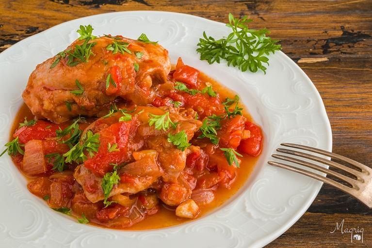 Курица по-итальянски с оригинальным вкусом