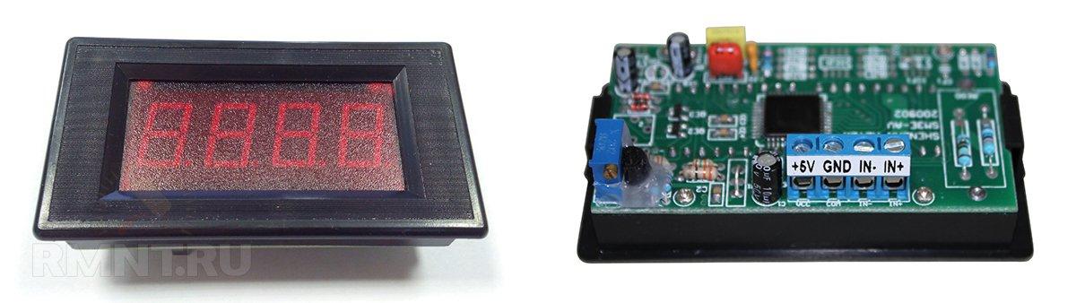Цифровой амперметр SM3D