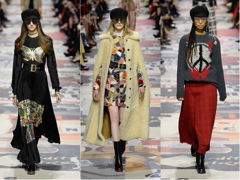 Christian Dior осень-зима 2018-2019
