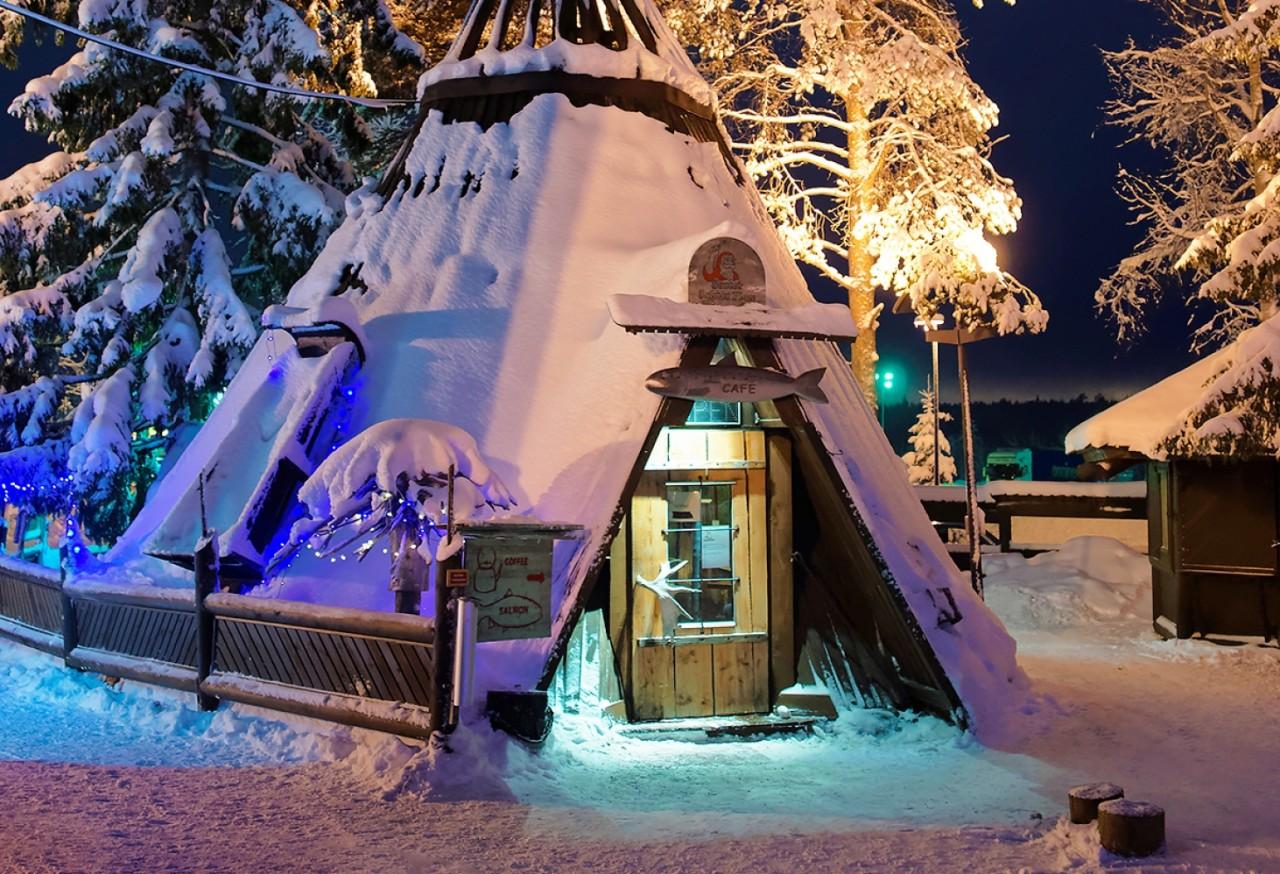 Лапландия картинки новый год