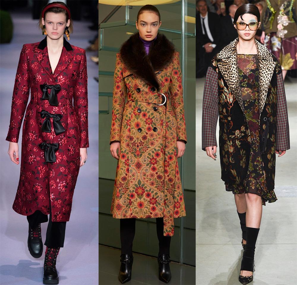 Модный обзор —  актуальные модели женских пальто осень-зима 2017-2018 года