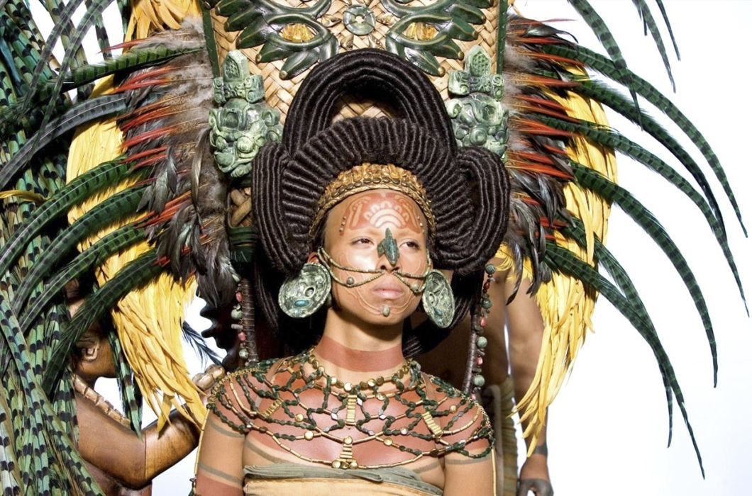 Народы майя волосы, прическа