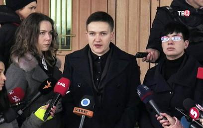 """Савченко попала в базу данных украинского сайта """"Миротворец"""""""