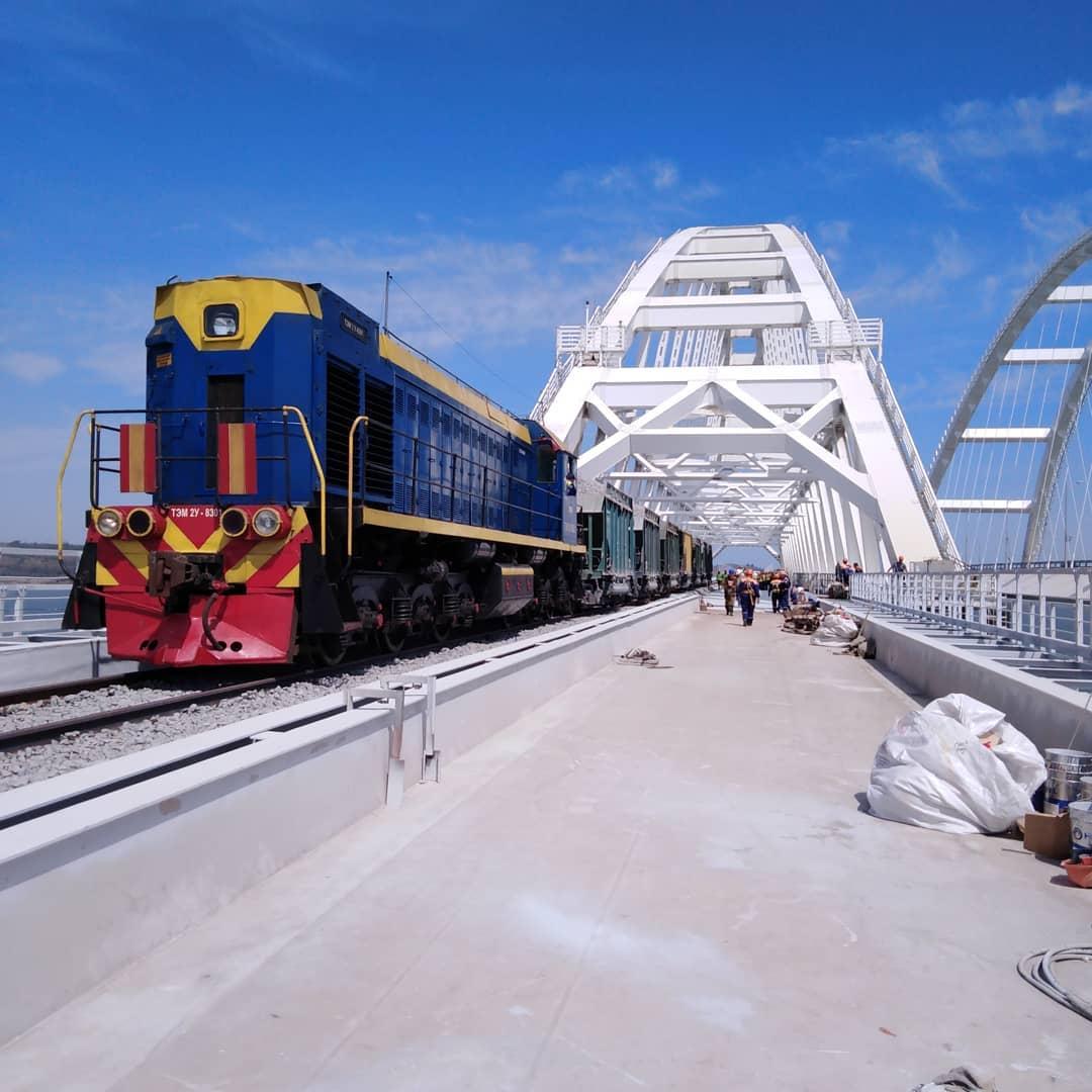 Ура! Сегодня Крым присоединился к железнодорожной сети России