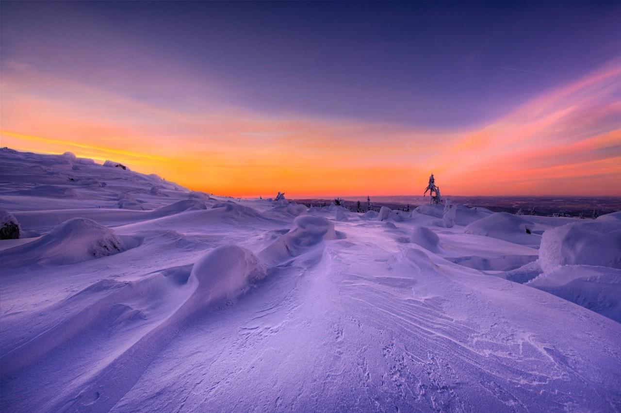 ФОТОВЫСТАВКА. Jørn Allan Pedersen: зимние пейзажи