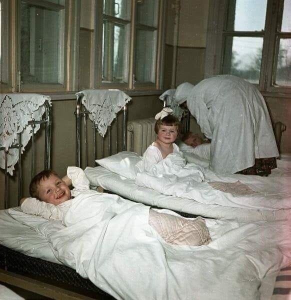7. Тихий час в СССР, 1950 архив, исторические фото, фото, фото из прошлого