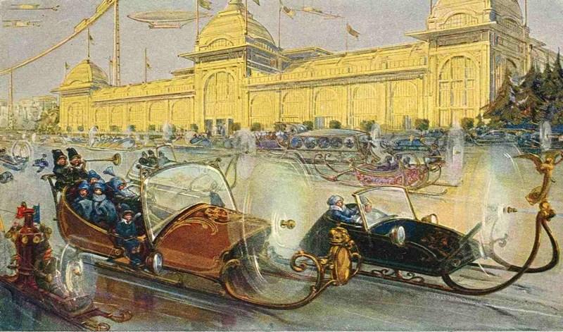 Москва через 200 лет из 1914 года