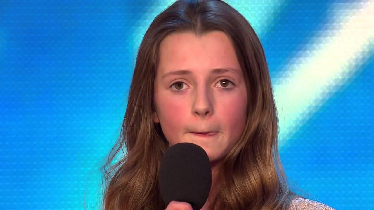 Когда судьи услышали, какую песню девчушка выбрала для исполнения, они невольно засмеялись...