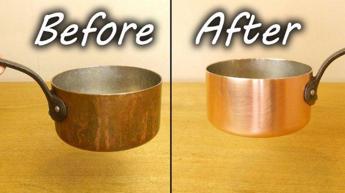 А вам нравится идеальное сияние металлической посуды на кухне?