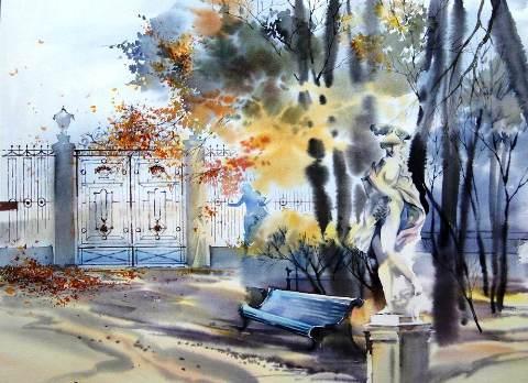 Анна Ахматова. Летний сад