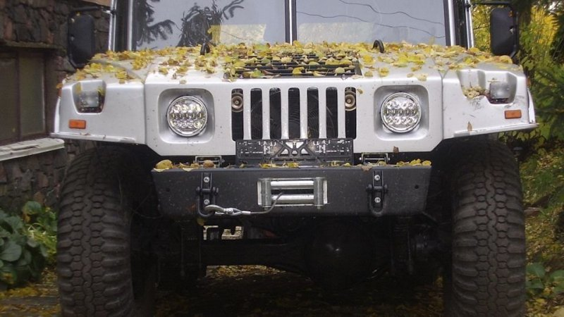 Самодельный Hummer H1 из ста…