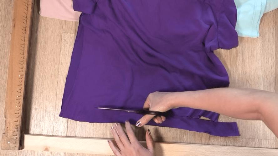 Добротный коврик без шитья и вязания