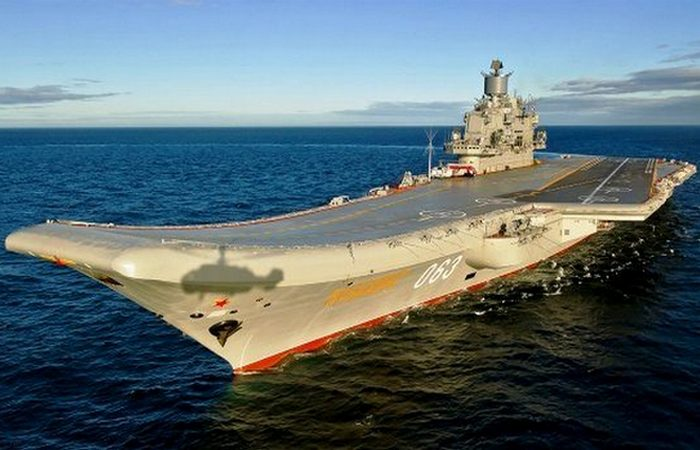 Авианосец «Адмирал Кузнецов».