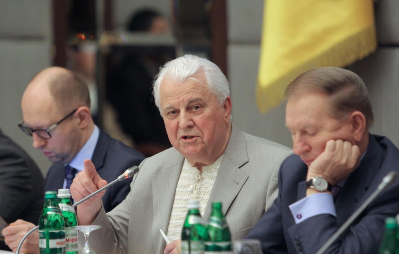 Первый президент Украины Леонид Кравчук признал Крым российским