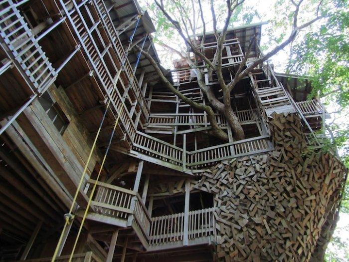 Самый большой дом на дереве …