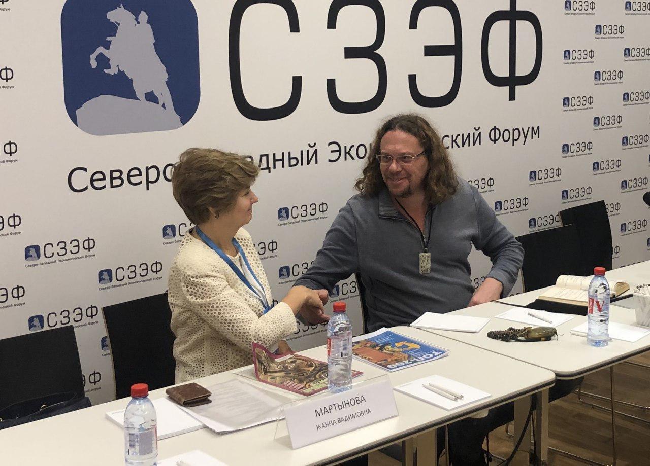 Сергей Полонский на СЗЭФ-2018: «Санкт-Петербург уникален для бизнеса, свой мы развивали отсюда»