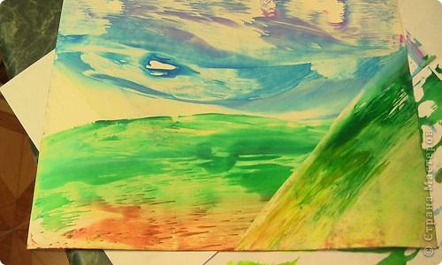 Картина, панно, рисунок, Мастер-класс Энкаустика: как я рисую утюгом Воск. Фото 8