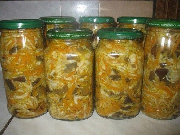 5 вкуснейших рецептов салатов из капусты на зиму