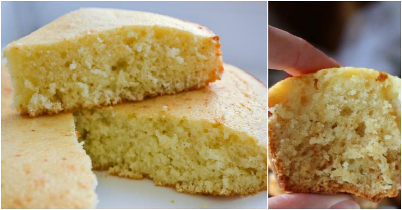 Пышный пирог на сыворотке без яиц, который тает во рту!